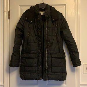 H&M black puffer coat